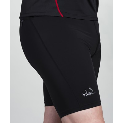 Compression Short 42.2 Stamina Black with pockets