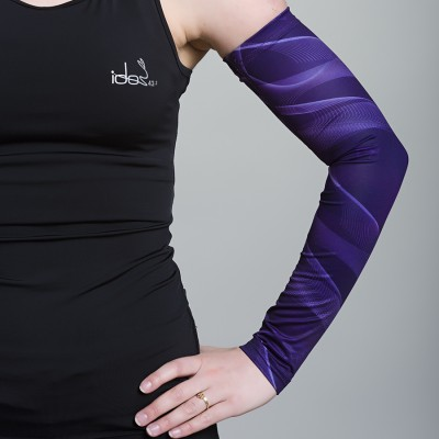 Women's Running Sleeves (Purple)