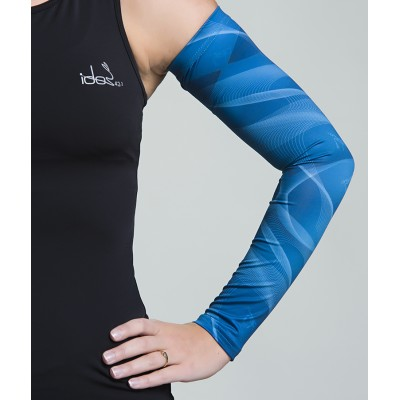 Women's Running Sleeves (Teal)
