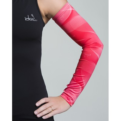 Women's Running Sleeves (Coral-Pink)
