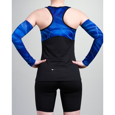 Women's Top 42.2 Stamina Black (blue)