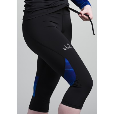 Women's Capri 42.2Stamina  Black (Blue)