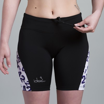 Compression Short 42.2 Stamina  Black (White-Purple)