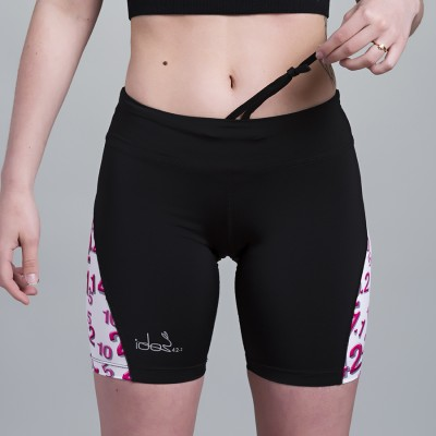 Compression Short 42.2 Stamina  Black (pink)