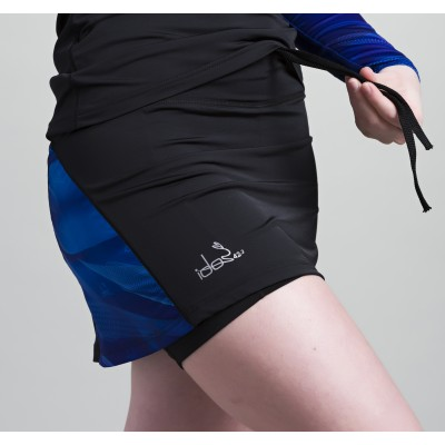 Skirt with built-in Compression Short 42.2 Stamina  Black (Blue)