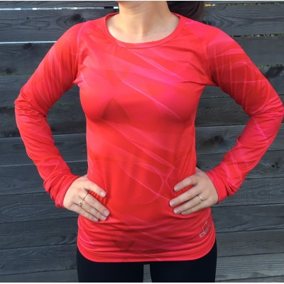 Maillot de corps manches longues (Rose-Framboise)