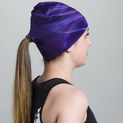 Women's Running Toque with opening (Purple)