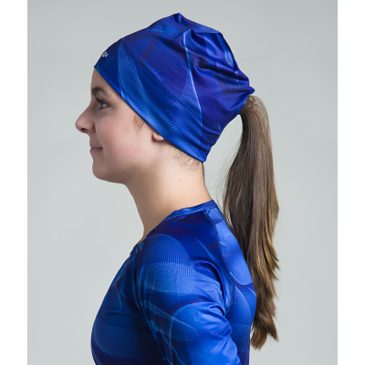 Women's Running Toque with opening (Blue)