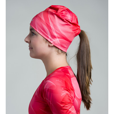 Women's Running Toque with opening (Pink)